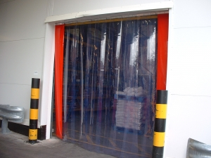 PVC strip curtain door